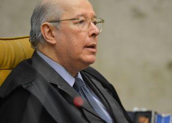 O ministro Celso de Mello, durante  abertura do terceiro dia de julgamento sobre a validade da prisão em segunda instância no  Supremo Tribunal Federal (STF)