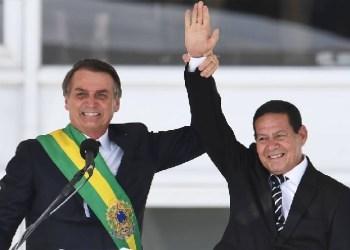 MOURÃO PRETENDE CONCORRER AO LADO DE BOLSONARO EM 2022