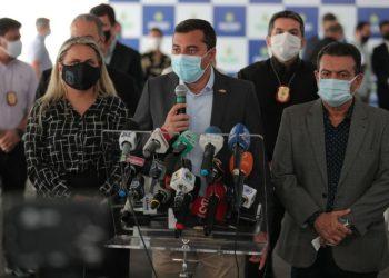 GOVERNADOR WILSON LIMA INAUGURA DELEGACIA ESPECIALIZADA EM COMBATE À CORRUPÇÃO