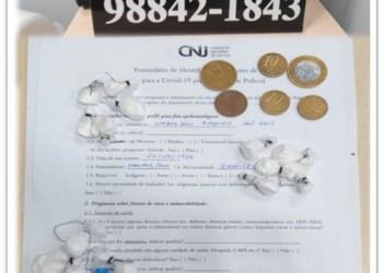Polícia Militar por meio da 28ª Cicom detém mulher com drogas dentro de bar em comunidade rural no Puraquequara