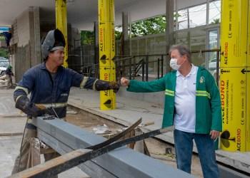 'É meu compromisso de honra', diz prefeito, ao vistoriar obras de mobilidade urbana em conclusão na capital