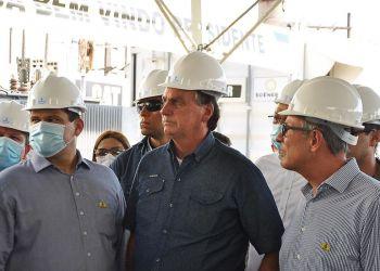 Em visita ao estado do Amapá a convite do presidente do Senado, Davi Alcolumbre, o presidente Jair Bolsonaro disse hoje (21), durante inspeção de usinas termelétricas