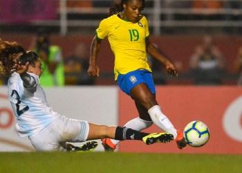 AMISTOSOS DE SELEÇÕES FEMININAS DE BRASIL E ARGENTINA SÃO ADIADOS