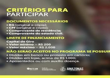 GOVERNO DO AM PROMOVE ATENDIMENTO DO CRÉDITO SOLIDÁRIO VOLTADO A MULHERES EMPREENDEDORAS