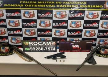 QUARTETO DO CRIME É PRESO EM FLAGRANTE COM ARMAS DE FOGO