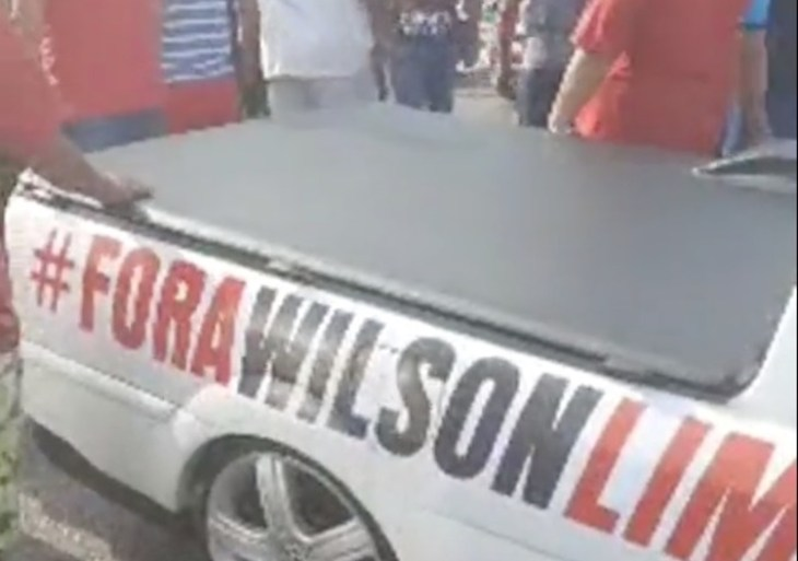 Dono da Saveiro adesivada #ForaWilsonLima não morreu; veja vídeo