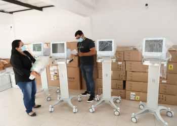 Amazonas recebe terceira remessa de respiradores enviadas pelo Governo Federal
