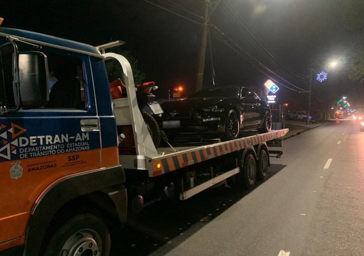 Operação Natal do Detran-AM flagra 34 condutores na Lei Seca