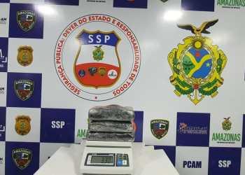 Base Arpão apreende 3 quilos de drogas em Coari
