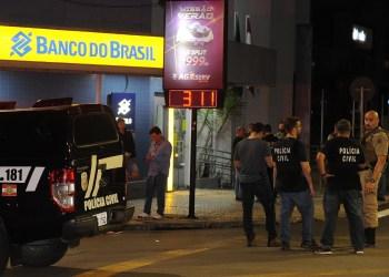 PRF prende cinco suspeitos de participar do roubo em Criciúma