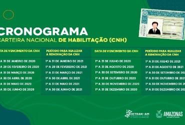 DETRAN-AM RETOMA PRAZOS DE SERVIÇOS DE TRÂNSITO QUE ESTAVAM INTERROMPIDOS