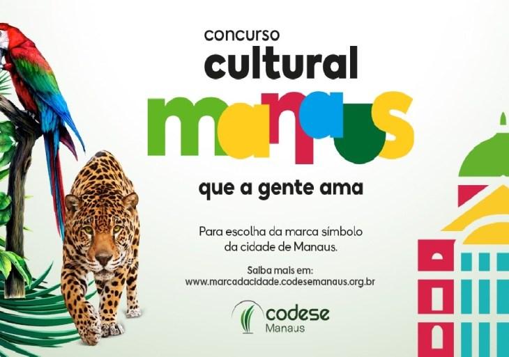 Concurso para definir marca de Manaus premia com até R$ 10 mil