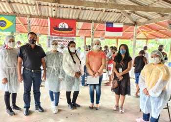 Daniel Vasconcelos participa de ações de combate a covid-19 em comunidades indígenas