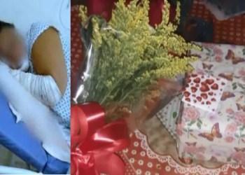 Mulher fica ferida após receber um presente que era uma bomba