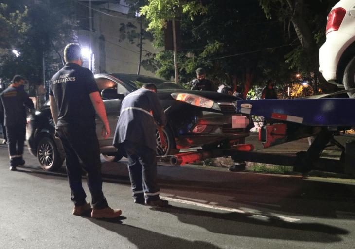 """Terceira noite da """"Operação pela Vida"""" em Manaus teve 20 detidos e 14 veículos apreendido"""