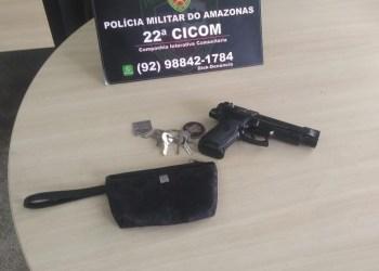 Polícia Militar detém dupla por roubo no bairro Nossa Senhora das Graças
