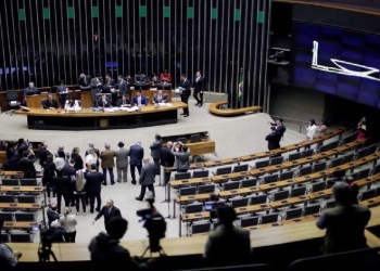 © Reuters Plenário da Câmara dos Deputados