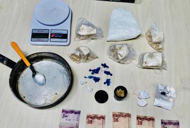Polícia Civil prende em flagrante dois homens por tráfico de drogas em Manaus