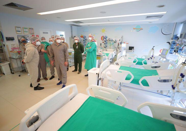 Hospital Delphina Aziz abre mais 10 novos leitos