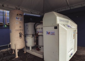 Amazonas já tem 14 novas usinas geradoras de oxigênio em funcionamento