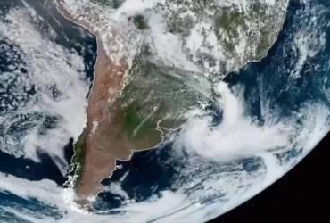 Ciclone bomba se forma na fronteira entre Brasil e Uruguai