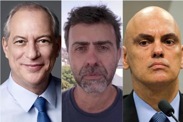 Ação que pede prisão de Ciro e Freixo é encaminhada a Moraes