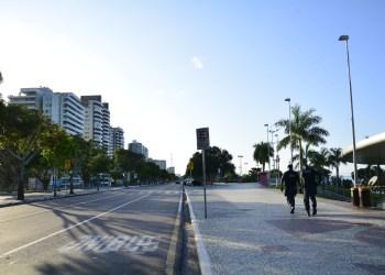 Prefeito prorroga interdição da praia da Ponta Negra até 15 de março