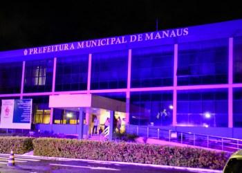 """Fundo Manaus Solidária acende luzes para sensibilizar população sobre o """"Março Lilás"""