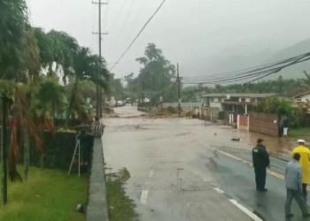 Havaí declara emergência após enchentes causarem danos em todas suas ilhas