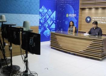Governo do Amazonas disponibiliza 'Aula em Casa' para redes municipais do interior do estado