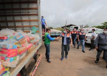 Governador Wilson Lima comanda ações da Operação Enchente na calha do Juruá