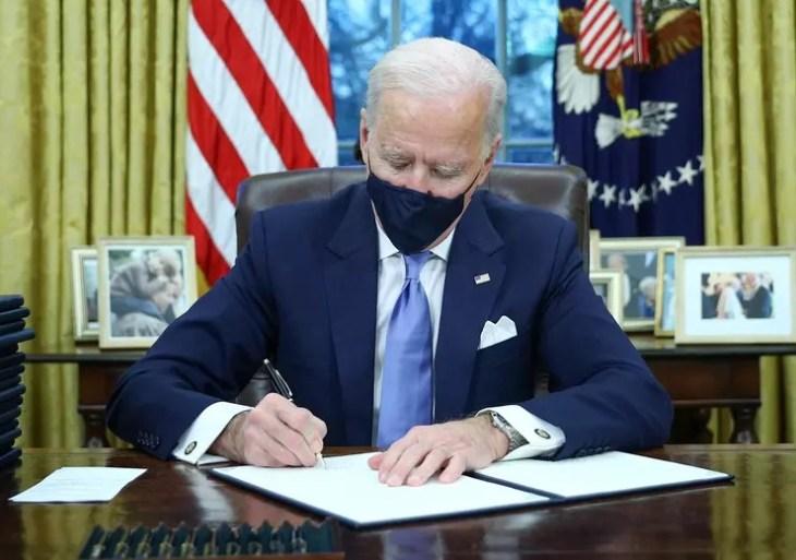 Em carta a Bolsonaro, Biden pede colaboração no clima e no combate à pandemia