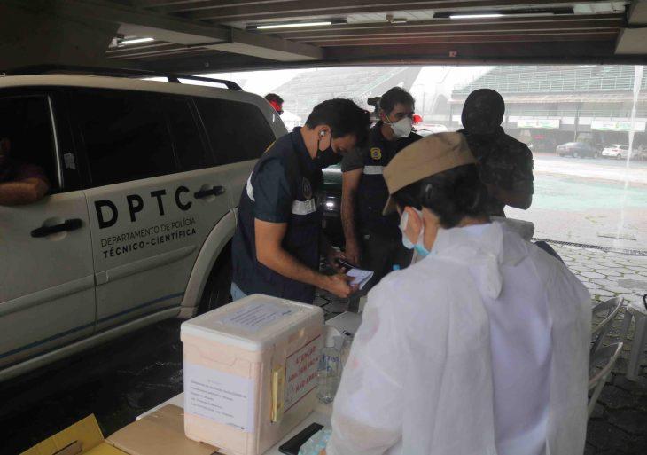 Vacinação contra Covid-19 alcança 1.177 agentes da segurança pública no Amazonas