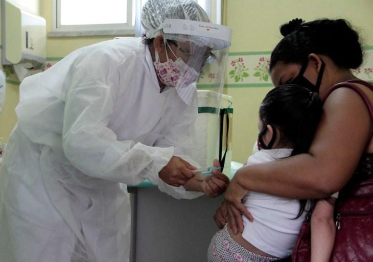 Nova etapa de campanha contra a Influenza inclui crianças de dois até cinco anos de idade