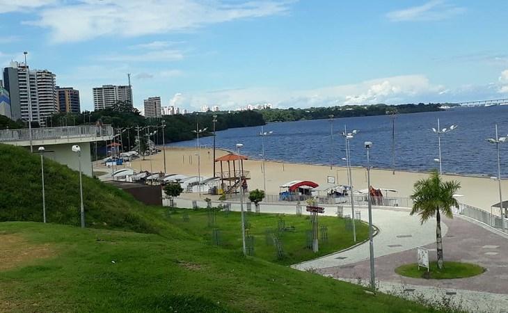 Ponta Negra vai ganhar rampa de acesso ao rio para PcDs e playground inclusivo