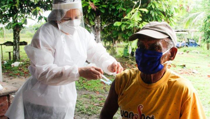 Prefeitura inicia nova etapa de vacinação na zona rural rodoviária de Manaus nesta segunda-feira