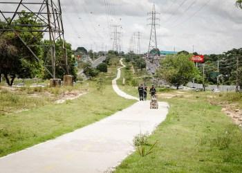 Ciclovia da avenida das Torres é revitalizada pela prefeitura