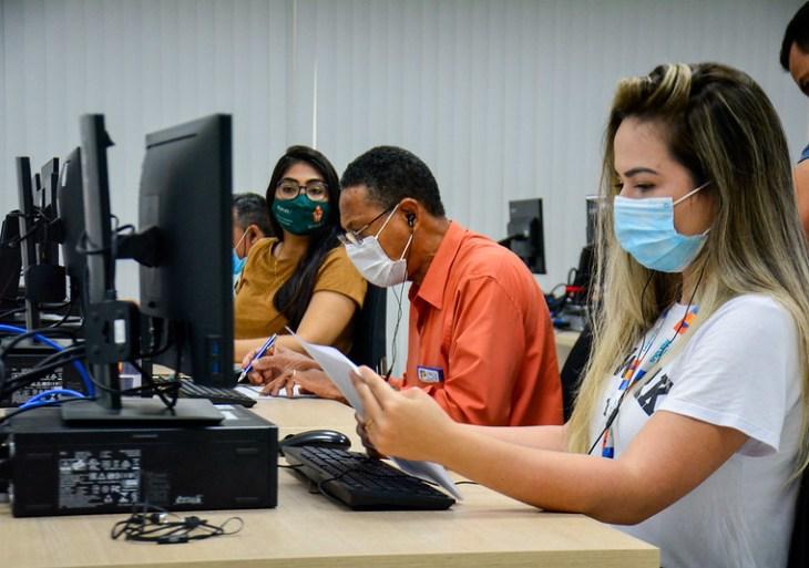 Busca ativa da Prefeitura de Manaus contactou mais de três mil que ainda não foram tomar a segunda dose da vacina