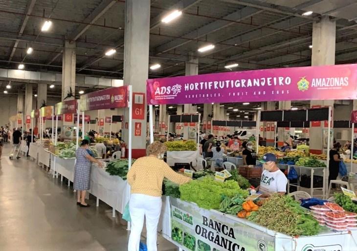 Feira da ADS do Shopping Ponta Negra passa a funcionar em novo horário, nesta quarta