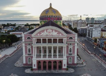 Secretaria de Cultura e Economia Criativa lança edital para criação da identidade visual de 125 anos do Teatro Amazonas
