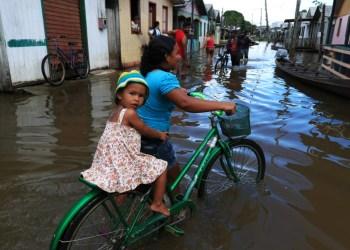 Defensoria identifica demandas da população afetada pela enchente em Eirunepé