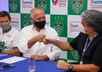 Bemol renova parceria com Manaus F.C. e anuncia venda da camisa oficial nas lojas
