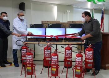 FCecon realiza apresentação oficial de novos equipamentos de saúde e expediente
