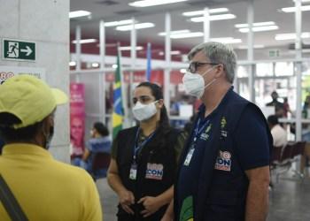 Procon-AM autua agência bancária no Centro de Manaus por descumprimento à Lei das Filas
