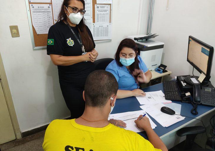 Serviço Social da UPP recebe treinamento para emissão da Carteira de Trabalho Digital dos internos