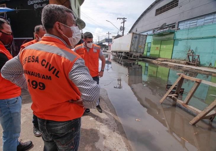 Prefeitura de Manaus realiza visita técnica para implementar ações da 'Operação Cheia'