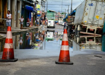 Centro de Manaus receberá ação conjunta para amenizar prejuízos causados pela cheia
