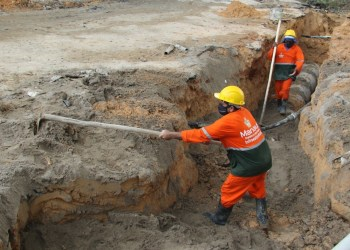 Obras em redes de drenagem na zona Leste são intensificadas