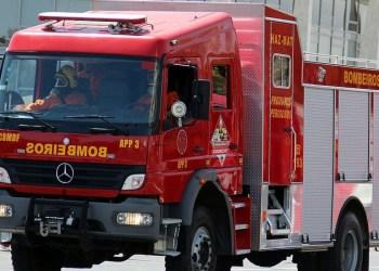 Corpo de Bombeiros atendeu três ocorrências de incêndio na noite de segunda-feira (24/05)