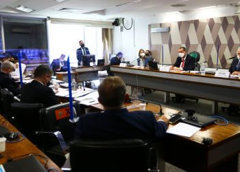 A CPI da Pandemia do Senado se reúne para ouvir a secretária de Gestão do Trabalho e da Educação na Saúde do Ministério da Saúde, Mayra Pinheiro.
